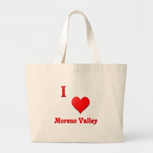 Moreno Valley -- Red Tote Bag