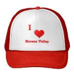 Moreno Valley -- Red Trucker Hat