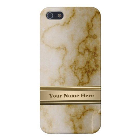 Moreno y mármol blanco iPhone 5 carcasas