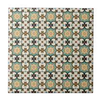 Moresque Pattern Ceramic Tile