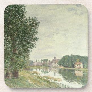 Moret-sur-Loing, 1892 (aceite en lona) Posavasos De Bebidas