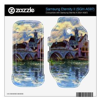 Moret-sur-Loing by Alfred Sisley Samsung Eternity II Skins