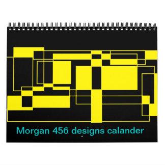Morgan 456 designs calendar