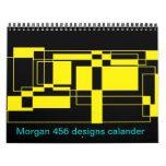 Morgan 456 diseños calendarios