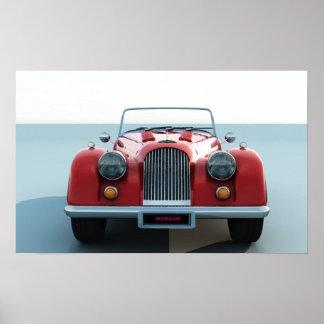 Morgan car poster
