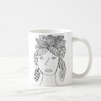 Morgan Cash Classic White Coffee Mug