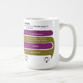 morgan classic white coffee mug