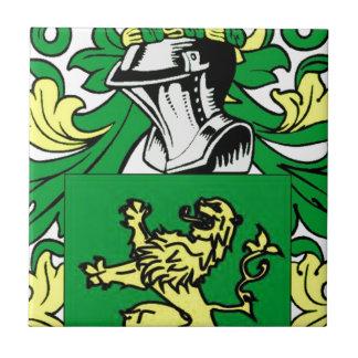 Morgan Coat of Arms Tile