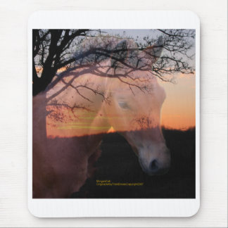 Morgan Colt in Sunset Mouse Pad