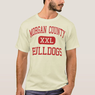 Morgan County - Bulldogs - High - Madison Georgia T-Shirt