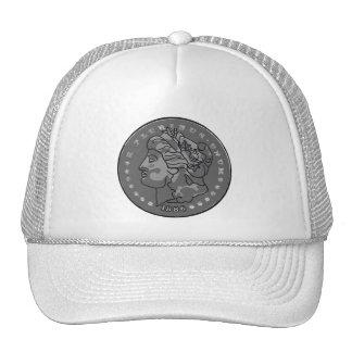 Morgan dollar art trucker hat