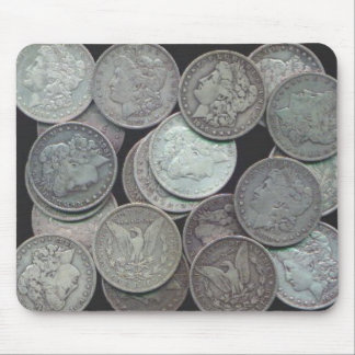 Morgan Dollars Mouse Pad