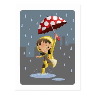 Morgan en la lluvia postal