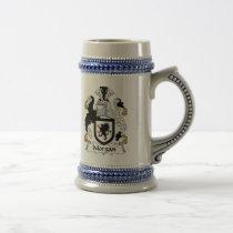 Morgan Family Crest Beer Stein