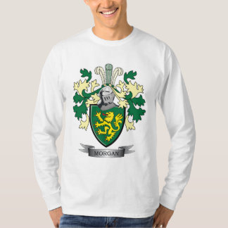Morgan Family Crest Coat of Arms T-Shirt