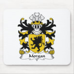 Morgan Family Crest Mouse Mat
