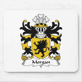 Morgan Family Crest Mouse Pad