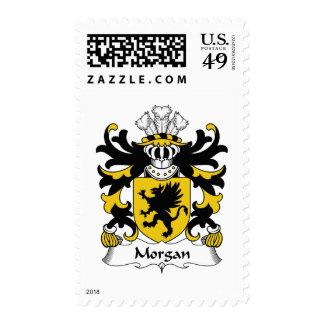 Morgan Family Crest Stamp
