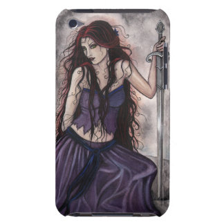 Morgan Gothic Fantsy Fairytale King Arthur Legend iPod Case-Mate Case