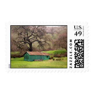 Morgan Hill Barn Postage Stamps
