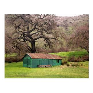 Morgan Hill Barn Postcard