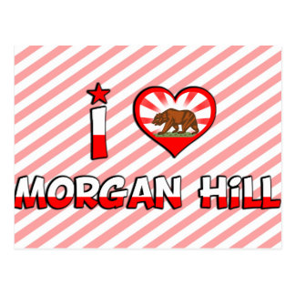 Morgan Hill, CA Postcards