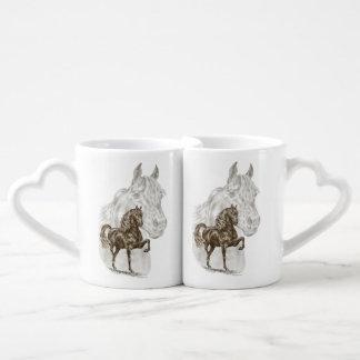 Morgan Horse Art Coffee Mug Set