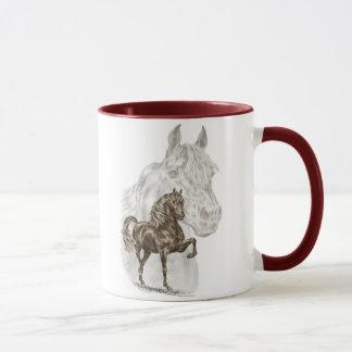 Morgan Horse Art Mug