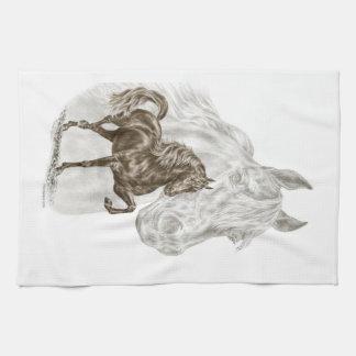 Morgan Horse Art Towel