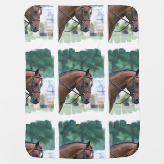 Morgan Horse Baby Blankets