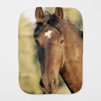 Morgan Horse Burp Cloth