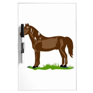 Morgan Horse Dry Erase Board