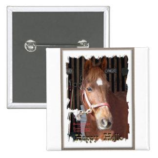 Morgan Horse Happy Button