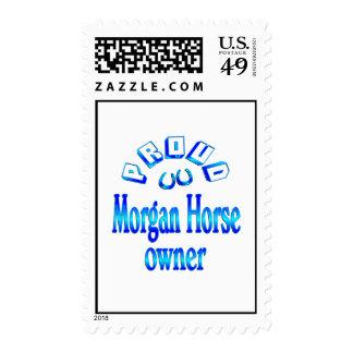 Morgan Horse Owner Postage Stamp