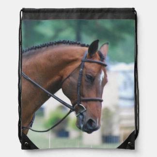 Morgan Horse Drawstring Bag
