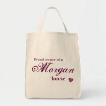 Morgan horse tote bag
