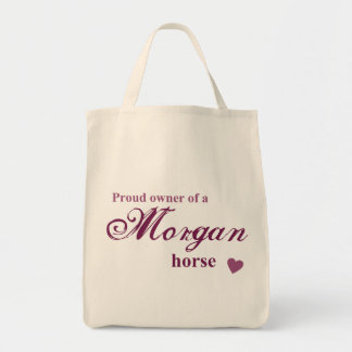 Morgan horse tote bag