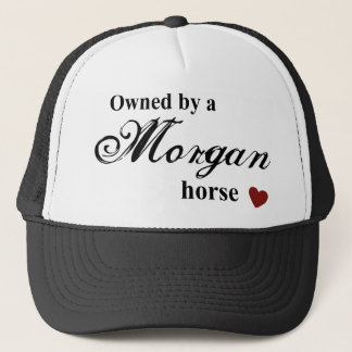 Morgan horse trucker hat