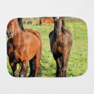 Morgan Horse Baby Burp Cloth