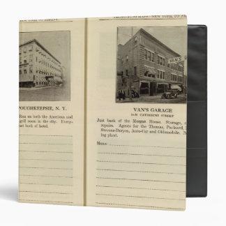 Morgan House, Van's Garage, Poughkeepsie Vinyl Binder