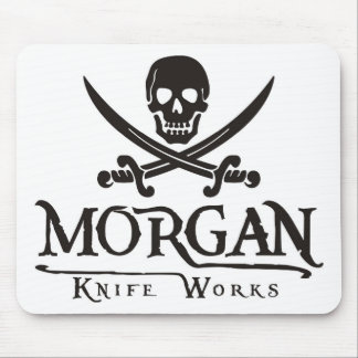 Morgan knife works mouse pad