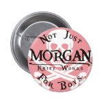 Morgan knife works pin