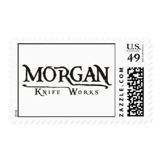 Morgan Knife Works Postage Stamps