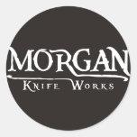 Morgan Knife Works Round Sticker