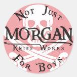 Morgan knife works sticker