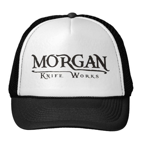 Morgan knife works trucker hat