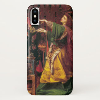 Morgan La Fay - Art Nouveau #2 iPhone X Case