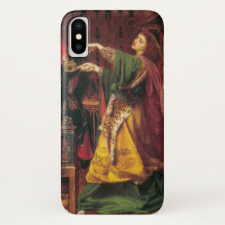 Morgan La Fay - Art Nouveau iPhone X Case