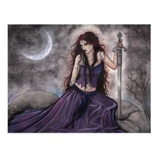 Morgan Le Fay  Fantasy Postcard