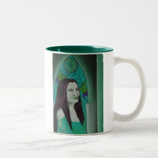 morgan le fey Two-Tone coffee mug
